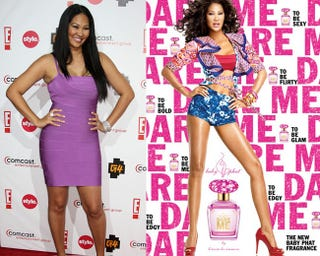 Illustration for article titled Kimora Photoshops Her Head Onto A Model's Body