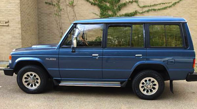 For $14,500, How About This 1989 Mitsubishi Pajero sel?