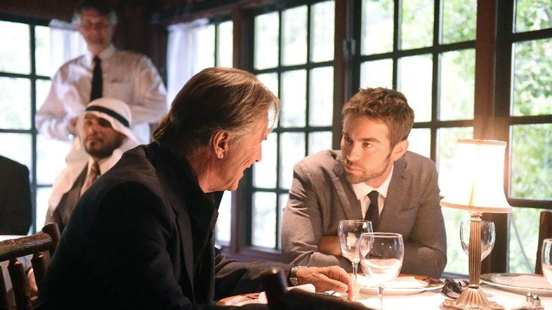 Don Johnson, Chace Crawford