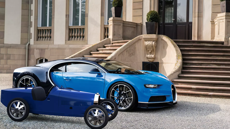 Illustration for article titled You Can Now Buy a New Bugatti for Less Than $34,000, but It Maxes Out at 13 HP