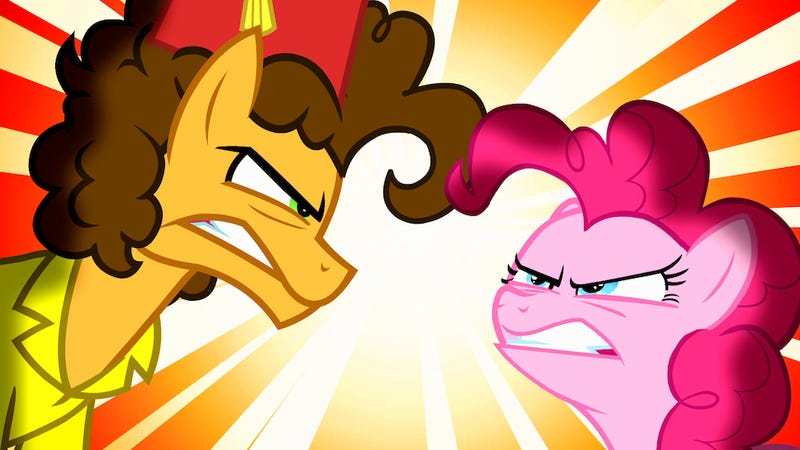 Illustration for article titled This is what Weird al Yankovic looks like as a My Little Pony