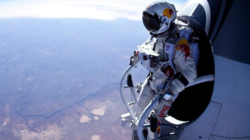 Illustration for article titled In Case You Didn't Know, The Red Bull Space Jump Will Be Insanely Hard (And Dangerous)