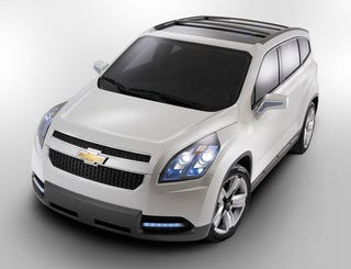 Illustration for article titled Chevy Orlando Concept Officially Revealed