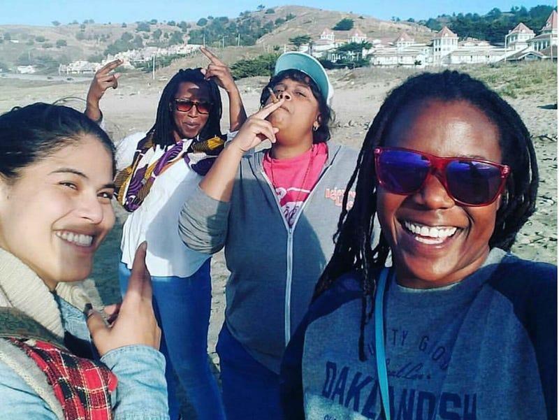 "Supernova Women: Nina Parks, Tsion ""Sunshine"" Lencho, Amber Senter and Andrea Unsworth (courtesy of Supernova Women)"