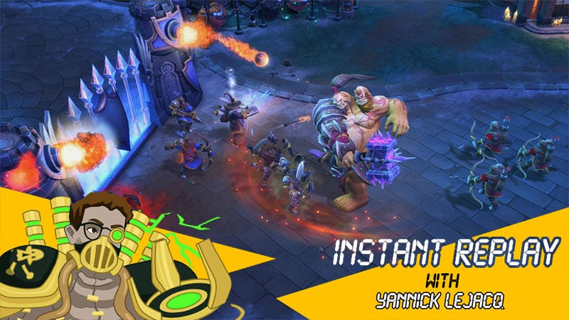 Illustration for article titled Heroes Of The Storm's New Two-Player Hero Is Whacky, Clumsy Fun