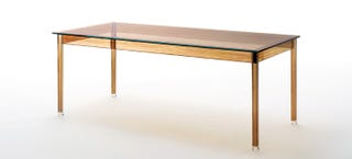 Illustration for article titled This Wooden Table Is Actually Made of Glass