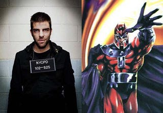 Illustration for article titled Who Would Win a Mutant-on-Mutant Smackdown: Sylar or Magneto?