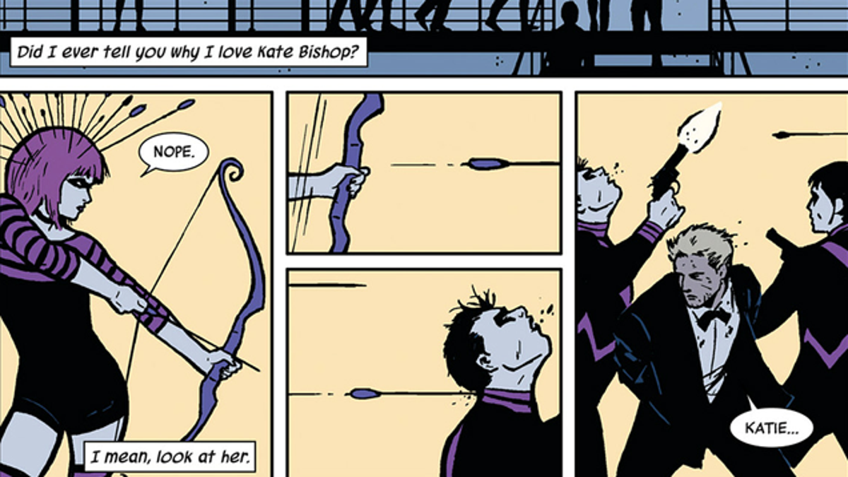 6 Reasons Why Matt Fraction and David Aja's Hawkeye Is One