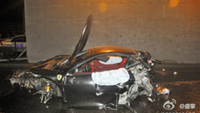 Illustration for article titled High Speed Naked Sex Games In A Ferrari Allegedly Killed The Son Of A Chinese Official