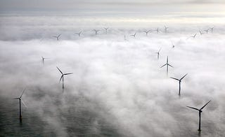 Illustration for article titled Wind Turbines Create Their Own Clouds