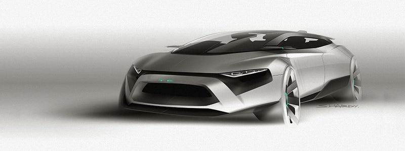 Illustration for article titled Dreamcar 2020: Turning 10 Design Trends into the Car of The Future