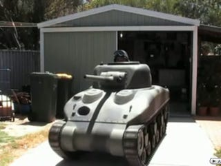How To Build A Sherman Tank In Your Garage