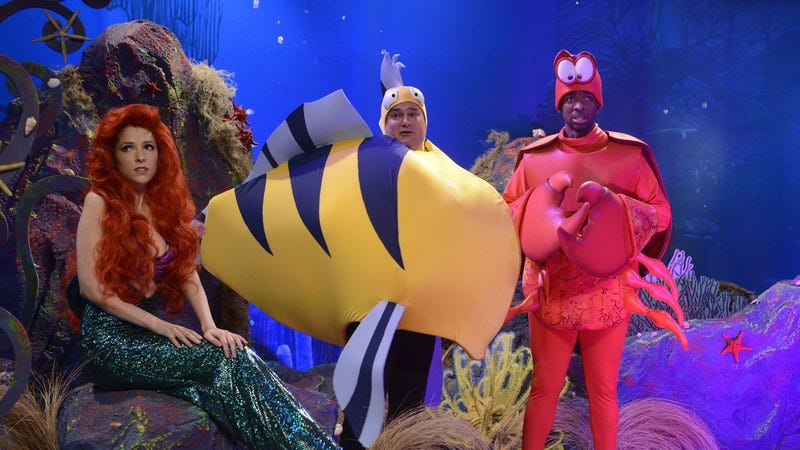 Saturday Night Live's take on a live-action Little Mermaid. (Photo: Getty Images/NBC/NBCU Photo Bank, Dana Edelson)