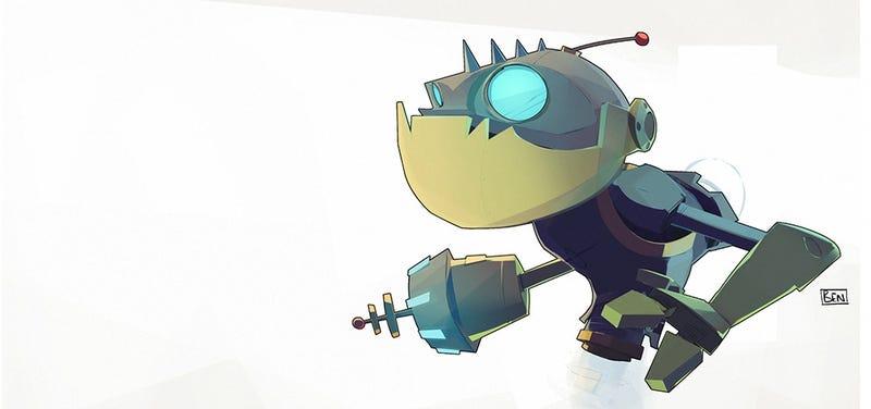 Illustration for article titled Build with Div: Talking Mr. Zurkon (Live Build, Now on Google+)