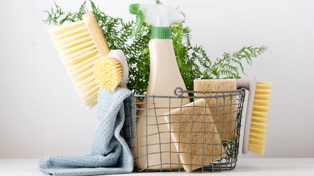 These Are the Only  Natural  Cleaning Products That Actually Work
