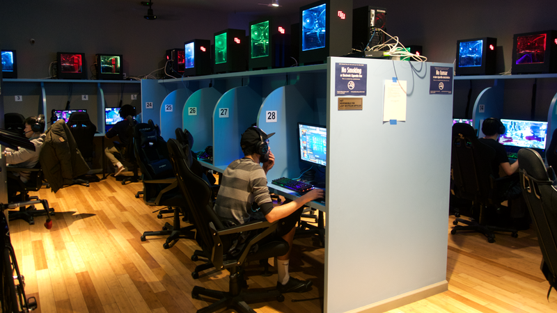 The Lan Cafe Is Making A Comeback