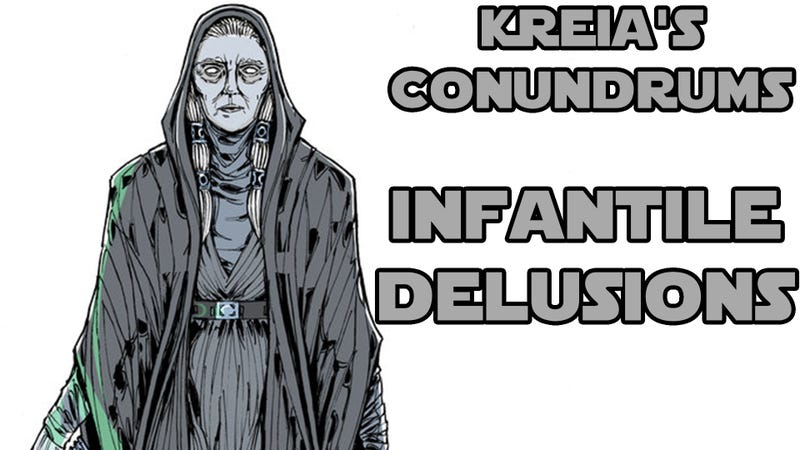 Illustration for article titled Kreia's Conundrums - The Infantile Delusion of Morality