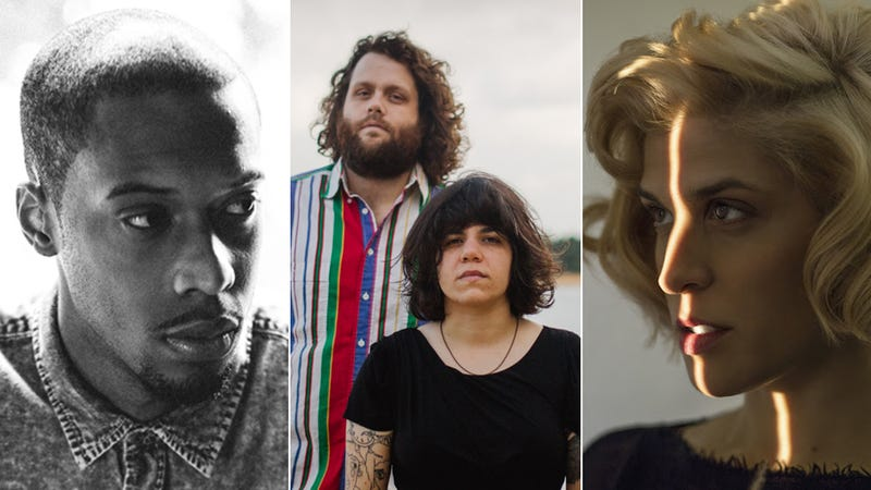 Black Milk (Photo: Jonathan Stafford), King Mike and Marissa Paternoster of Screaming Females (Photo: Grace Winter), and Dessa (Photo: Bill Phelps)