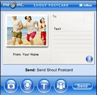 Illustration for article titled Download of the Day: Shout Postcard (Palm Treo)