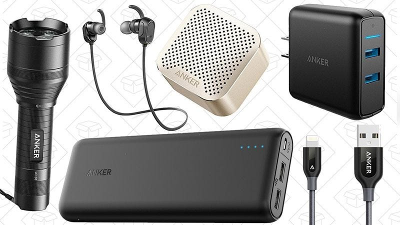 Illustration for article titled Today's best deals: Anker gear, tax software, and more