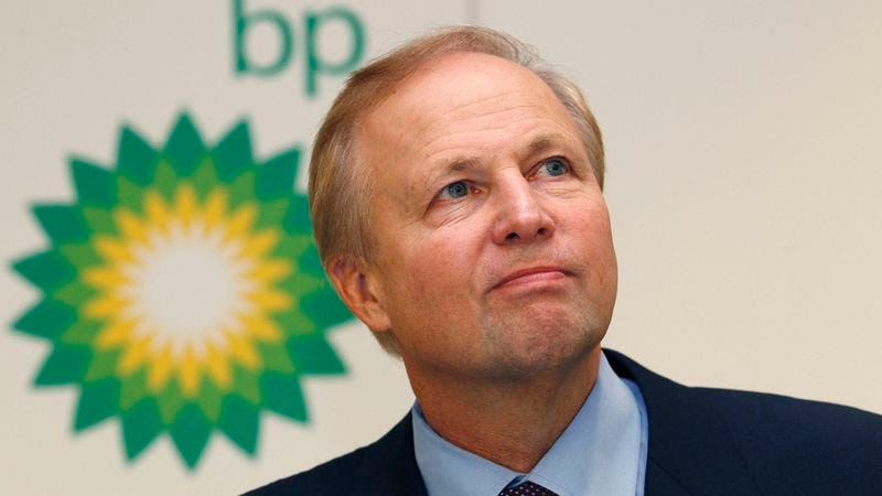 Illustration for article titled BP CEO: 'We Deeply Regret The Tragic Loss Of $4.5 Billion'