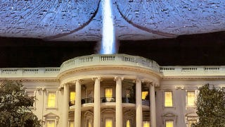 Illustration for article titled No alien visits or UFO cover-ups, White House says