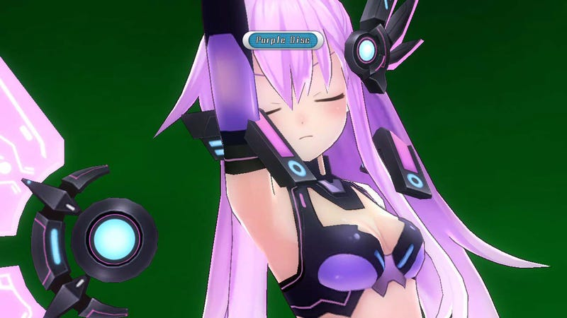 Illustration for article titled Hyperdimension Neptunia MK. 2 Transforms Your Handhelds into Lovely Ladies Later This Month