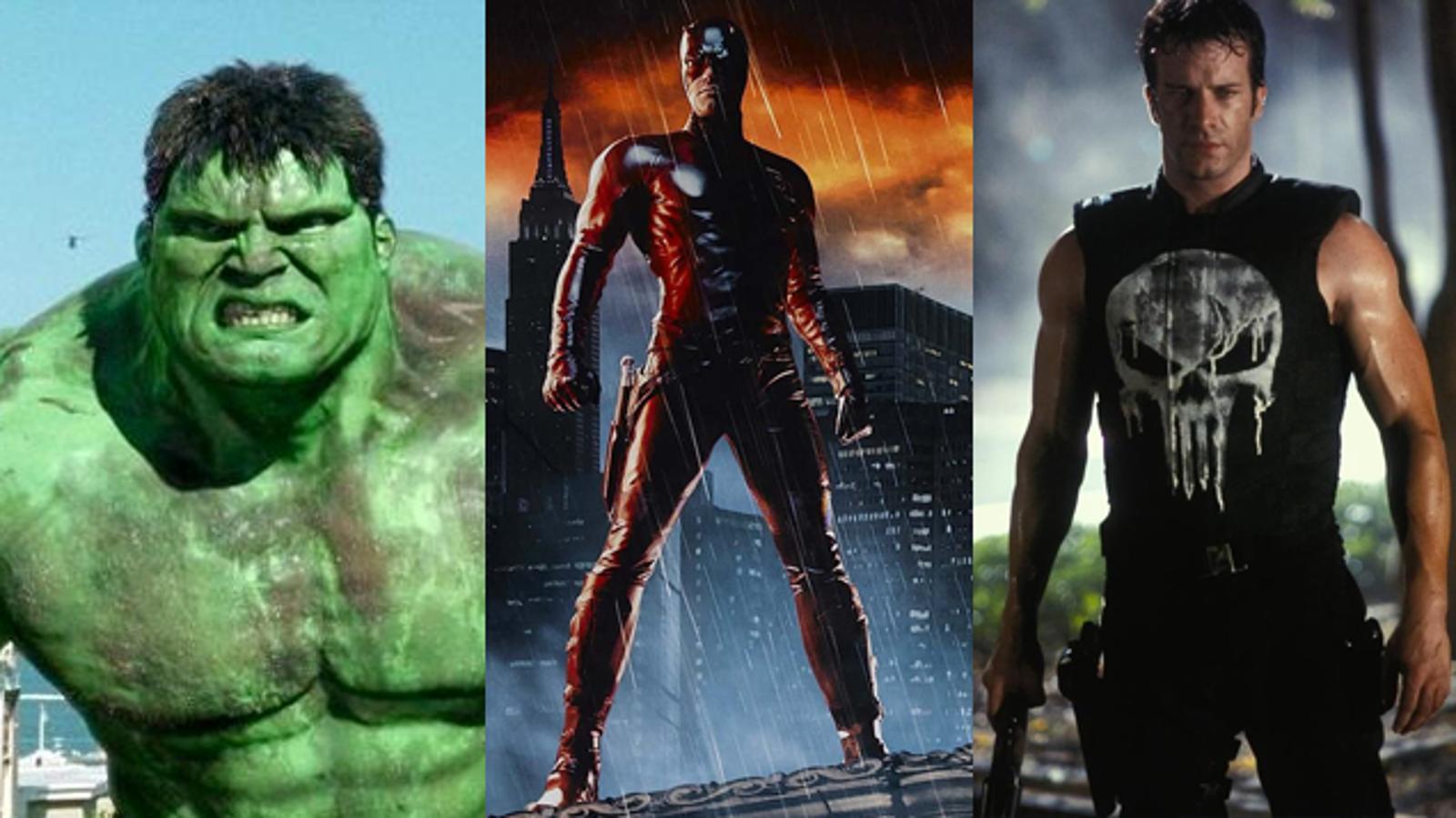 The Complete History Of Marvel Superhero Movies: 1990-2008