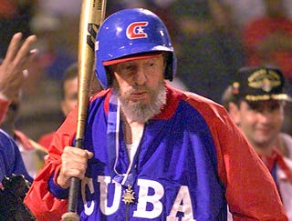 Image result for fidel castro baseball