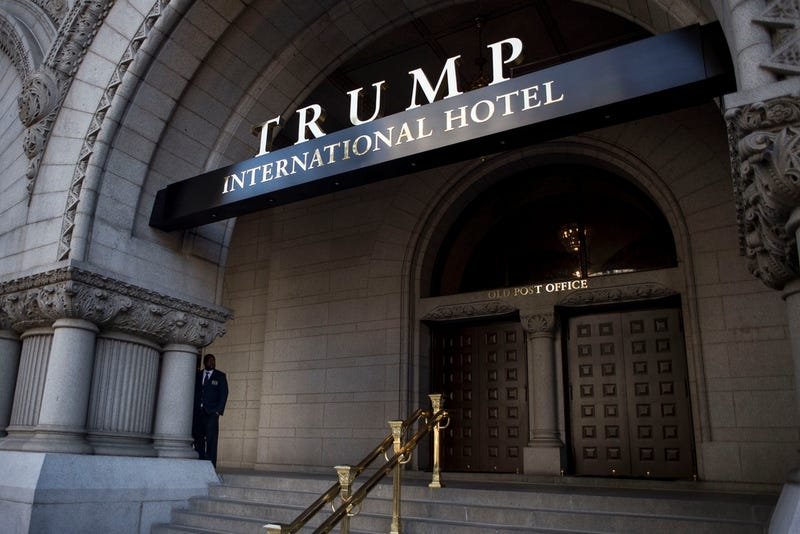 The new Trump International Hotel, built with a 60-year lease agreement with the General Services Administration (Photo by Gabriella Demczuk/Getty Images)