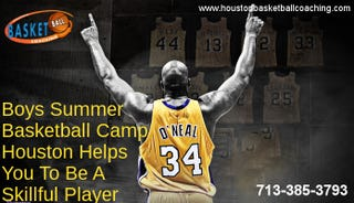 Illustration for article titled Boys Summer Basketball Camp Houston Helps You To Be A Skillful Player