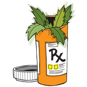 Illustration for article titled A new drug that kills pain like marijuana, without getting you stoned