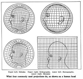 Illustration for article titled This is how map projections warp your understanding of geography