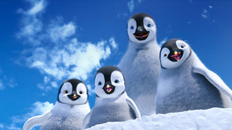 Illustration for article titled Happy Feet Two