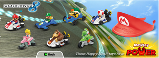 Illustration for article titled Mario Kart Toys Are Coming To McDonalds