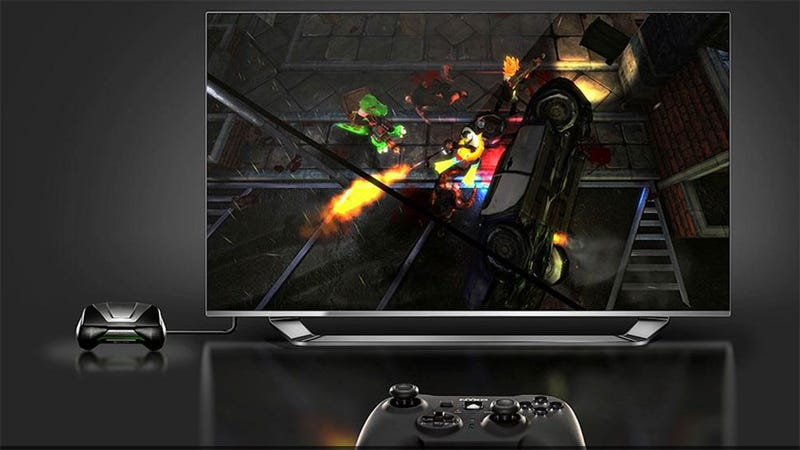 Illustration for article titled Now Nvidia's Shield Is A Set-Top PC Game Streaming Machine