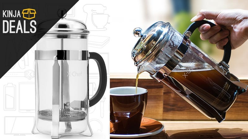 Illustration for article titled Enjoy Better Coffee With This $15 French Press