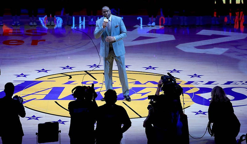 Illustration for article titled Magic Johnson Has A Simple Two-Step Plan To Fix The Lakers