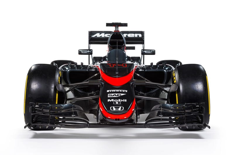 Illustration for article titled McLaren Dumps The Chrome For Badass New Red And Black Livery
