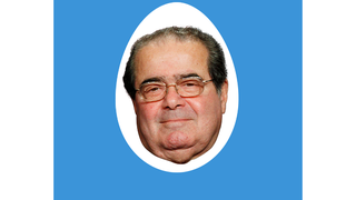 Scalia Is a Twitter Egg