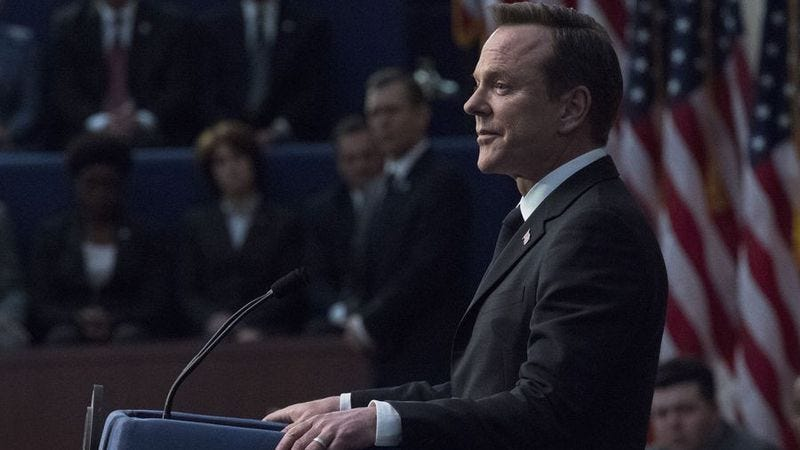 Illustration for article titled Designated Survivor ends its first season with unearned optimism