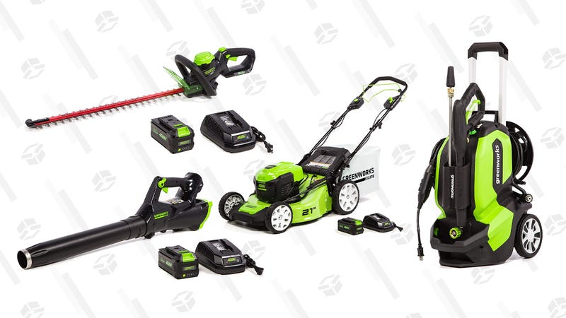 Save 20% on Greenworks Pressure Washers and Accessories | AmazonSave up to 32% on Greenworks Elite Lawn Tools | Amazon
