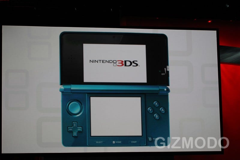 Illustration for article titled The Nintendo 3DS Is Real, and Doesn't Need Glasses