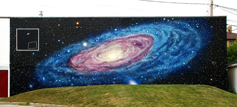 Illustration for article titled Every City Deserves Space Murals This Gorgeous