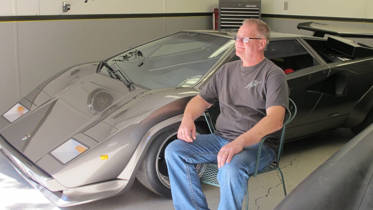 The Man Who Spent 17 Years Building The Ultimate Lamborghini Replica