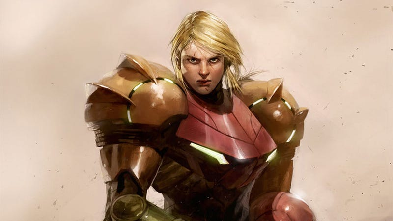 Illustration for article titled Now This Is How I Imagine Samus Looking