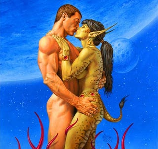 Illustration for article titled 10 Authors Who Put Sex In Their Science Fiction