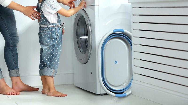 Vremi Collapsible Laundry Basket (Blue) | $22 | Amazon | Promo code VRMILNDRY20