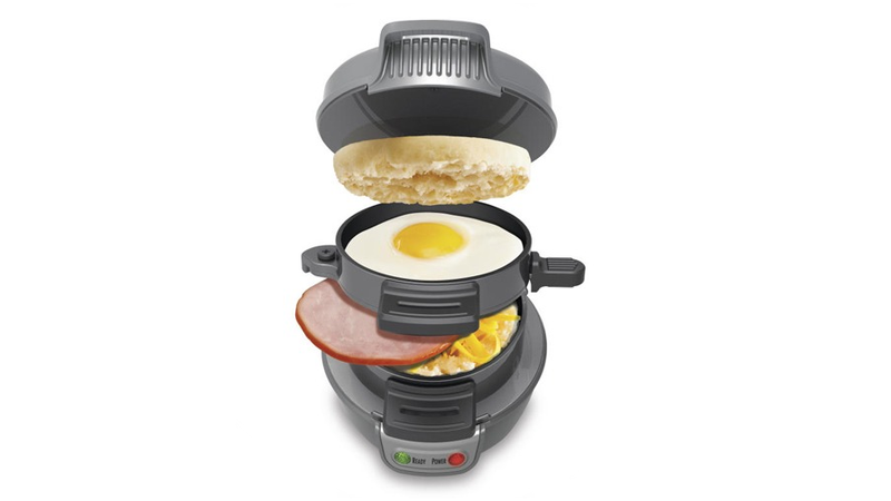 Illustration for article titled Bring the Drive-Thru to Your Kitchen with this Instant Breakfast Sandwich Tower