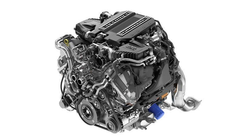 Illustration for article titled Cadillac's New Twin-Turbo V8 Was Designed With More Luxurious Cars in Mind